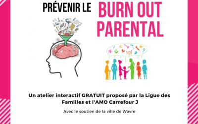 Atelier gratuit : COMMENT MIEUX GERER SA CHARGE MENTALE POUR PREVENIR LE BURNOUT PARENTAL